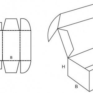 fefco 0427- skladacia krabica
